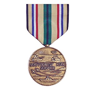 Legacies Of Honor Southwest Asia Service Medal